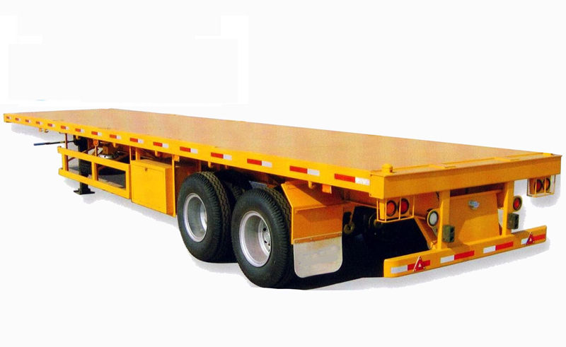 2 axle flatbed trailer Chinaheavylift