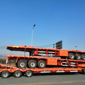 3 Axle Flatbed Container Trailer