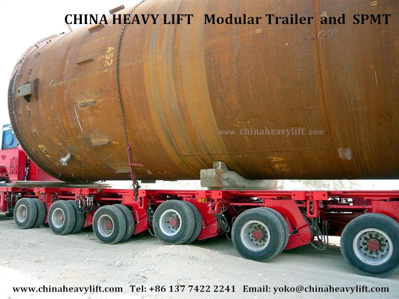 CHINAHEAVYLIFT Modular Trailer 84
