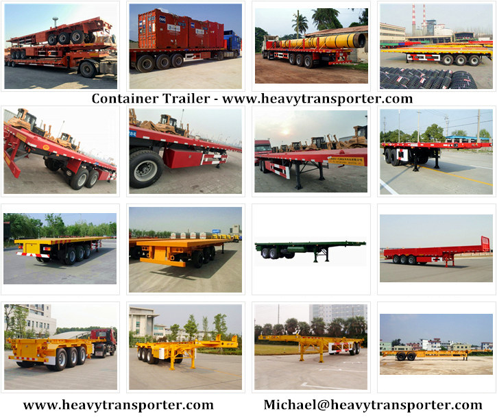 Container Trailer - www.heavytransporter.com