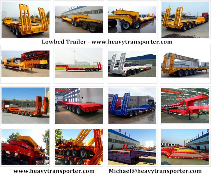 Lowbed Trailer - www.heavytransporter.com