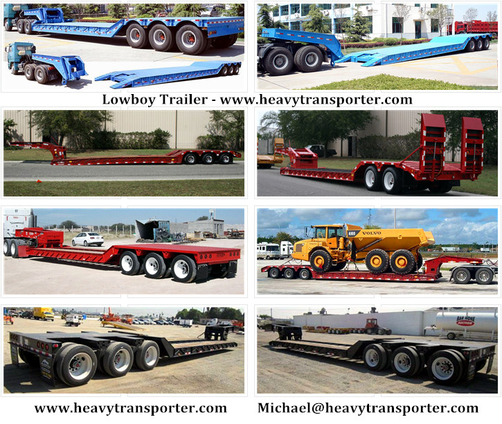 Lowboy Trailer - www.heavytransporter.com