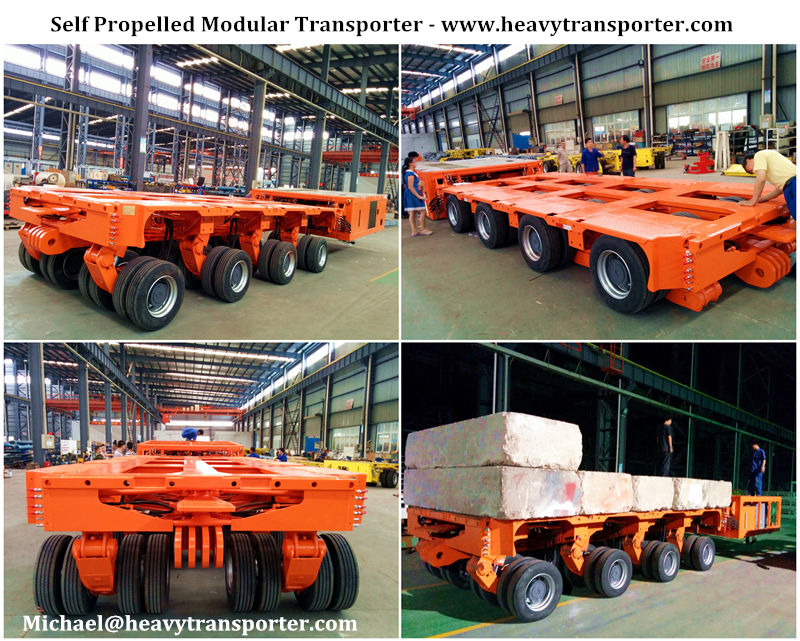 Self Propelled Modular Transporter - www.heavytransporter.com