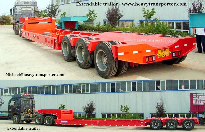 Extendable Trailer - www.heavytransporter.com