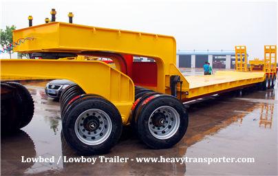 Lowbed  Lowboy Trailer - www.heavytransporter.com